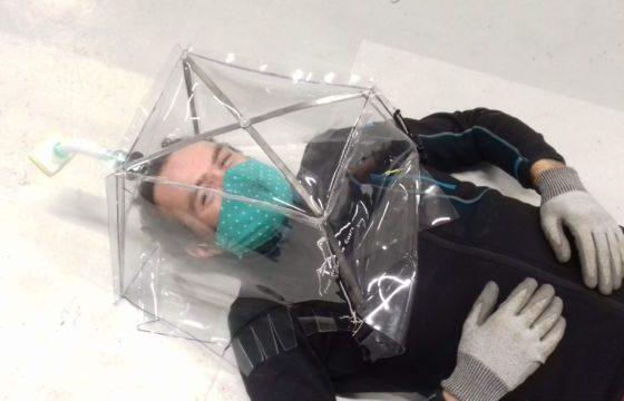 Des bulles pour isoler les patients du covid-19 créée à Grenoble : une première mondiale