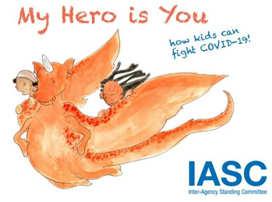 How kids can fight COVID-19! My Hero is You book