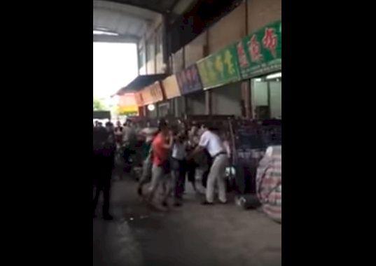 La vidéo d'un Africain passé à tabac en Chine date au moins de 2015