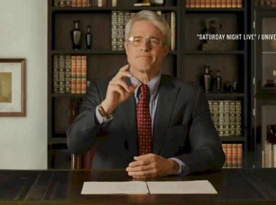 Watch Brad Pitt As Dr. Fauci Diagnose Trump's COVID-19 Response On 'SNL' | NBC News