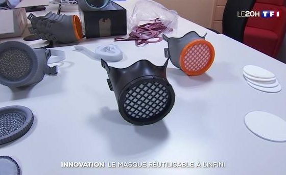 Innovation : le masque réutilisable à l'infini de Michelin