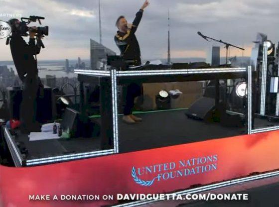 Coronavirus - Revivez le concert de David Guetta sur les toits de New York
