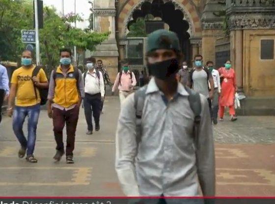 Coronavirus : face à la flambée de contaminations, l'Inde…