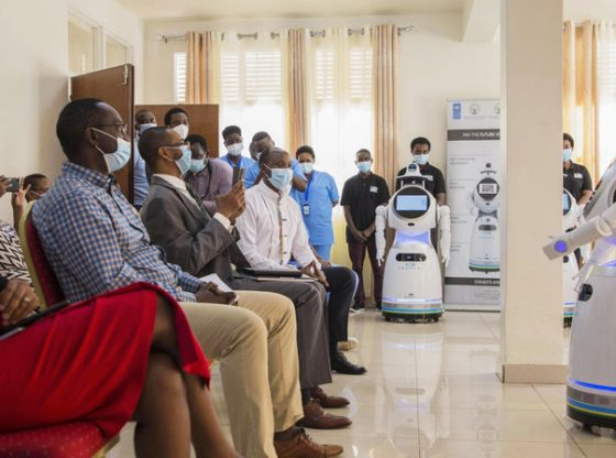 A COVID-19 Success Story In Rwanda: Free Testing, Robot Caregivers